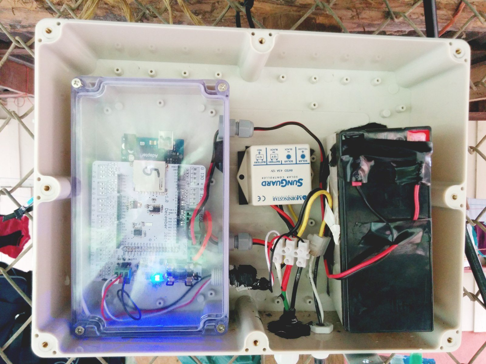 Researchers Develop An Inexpensive Method To Measure How Much Water Wiring Programming Language The Equipment Is Powered By Solar Panels And Uses Open Source Called Arduino Which Used Program Robots Sensors Without A