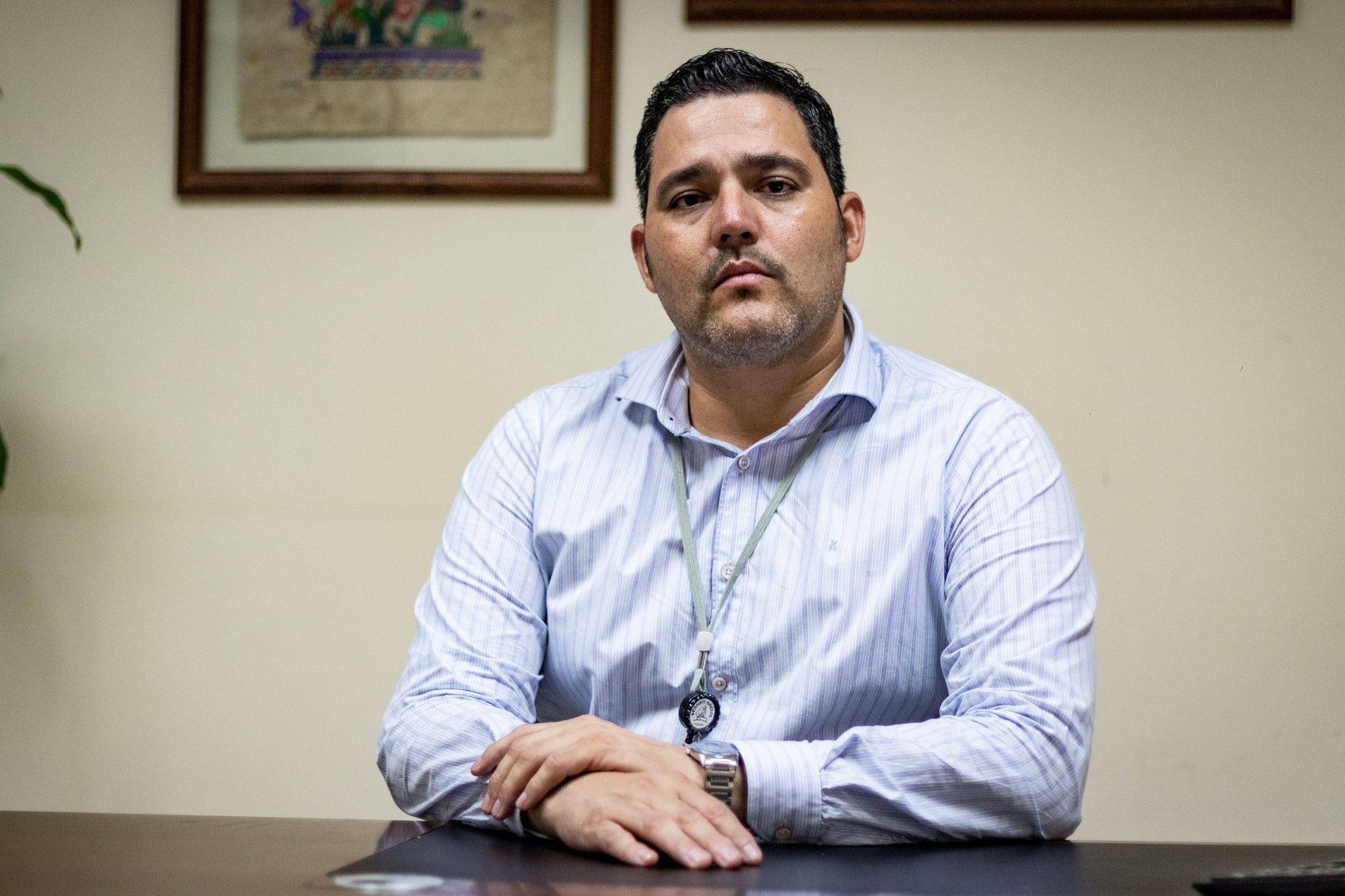 Marvin Palma, director del Hospital Dr. Enrique Baltodano Briceño