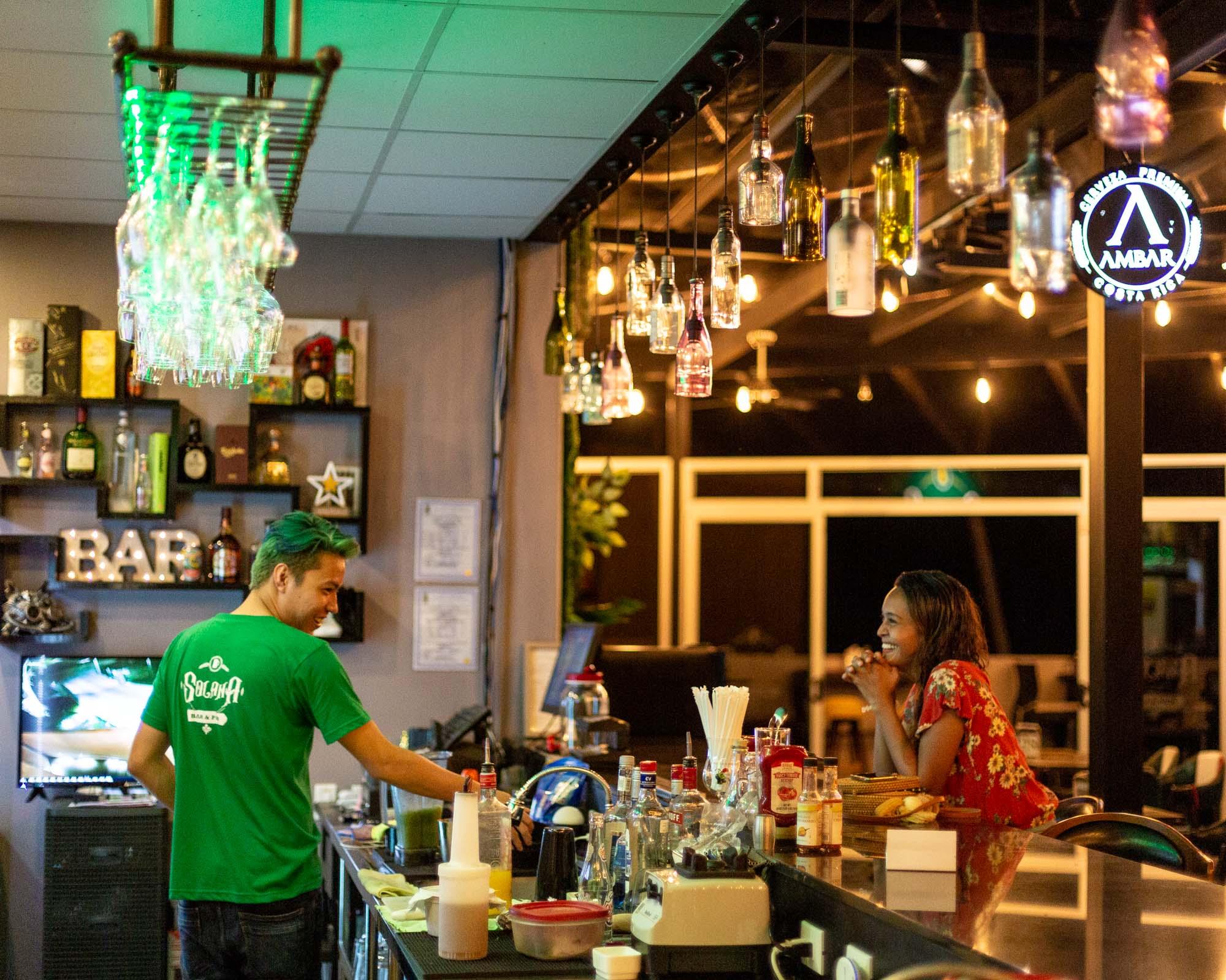 Solana Pub: Hard Rock and Huge Hamburgers In Nicoya