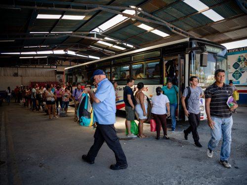 Bus Nicoya Tralapa La Pampa
